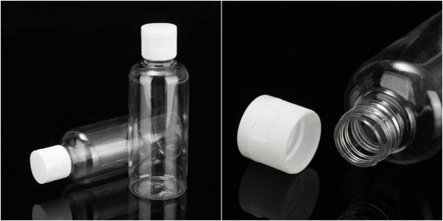 размер ручной клади в самолёте: бутылочки