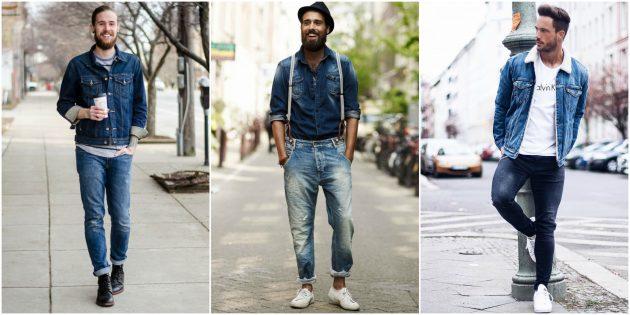 Мужская мода 2018: Деним и ещё раз деним