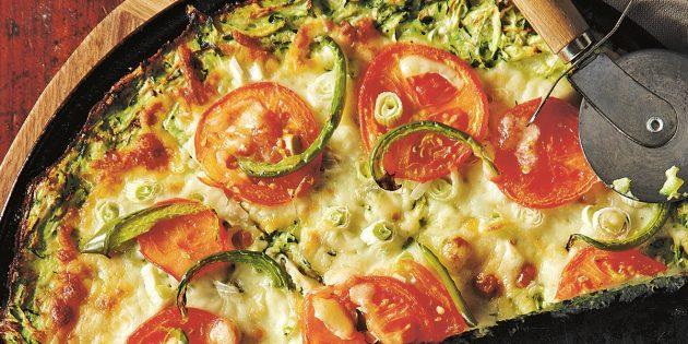 Блюда из кабачков: Кабачковая пицца