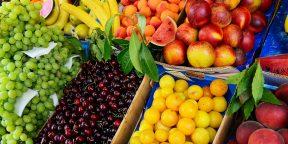 Как правильно выбирать фрукты и ягоды