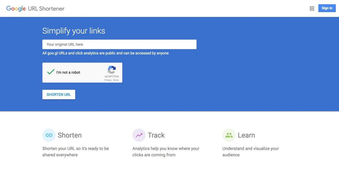 Как сделать ссылку короткой в гугле 517