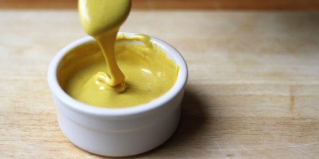 Сладкая горчица с мёдом