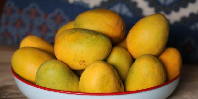 Как выбирать манго