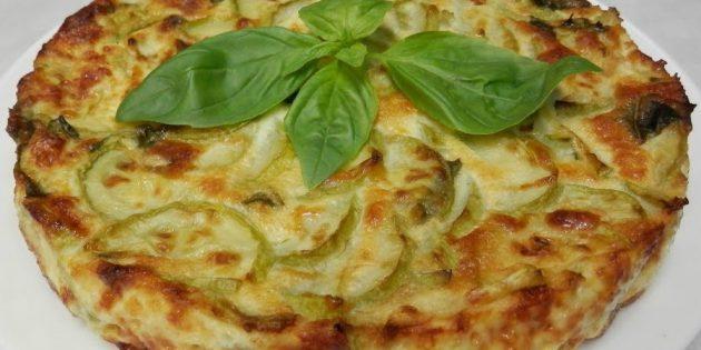Блюда из кабачков: Фриттата