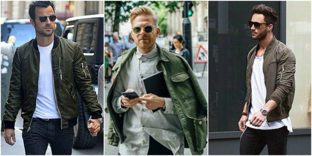 Мужская мода 2018: Куртка в стиле милитари