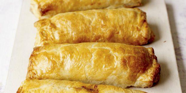 Пирожки с мясом «Веллингтон»