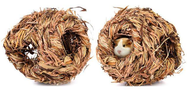 Гнездо из травы