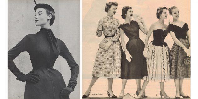 50-е годы: new look