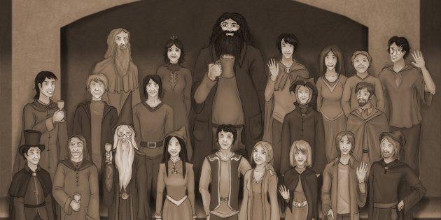 мир Гарри Поттера: орден феникса