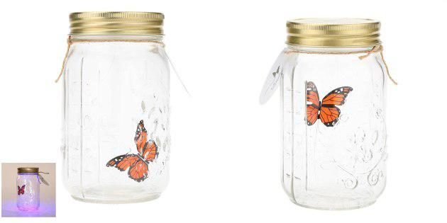 Ночник с бабочкой