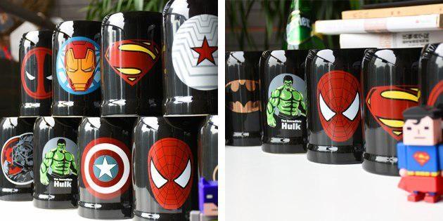 Супергеройские кружки