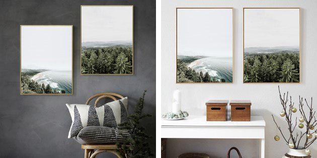 Плакаты с пейзажами