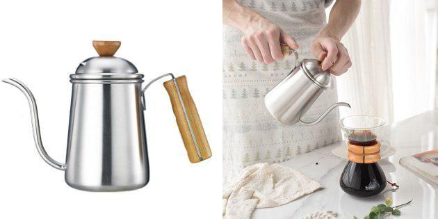 Чайник с длинным носиком