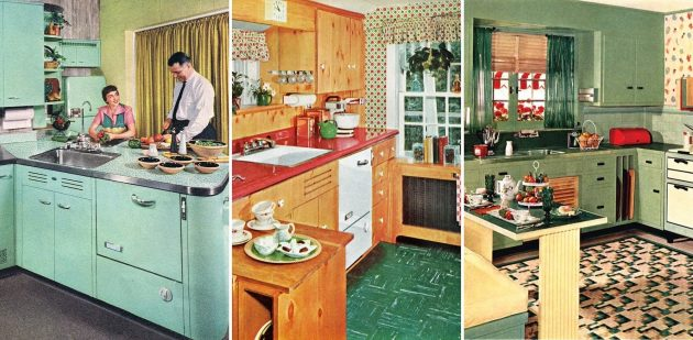50-е годы: кухни