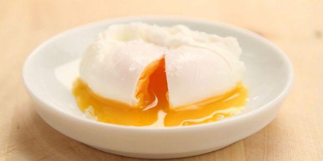 Яйцо пашот в мультиварке