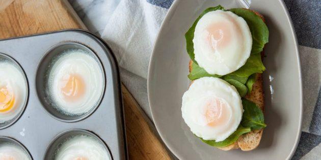Яйцо пашот в духовке