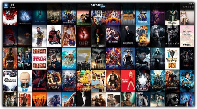 Где смотреть сериалы и фильмы на английском с субтитрами: Popcorn Time