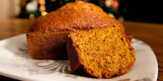 Лучшие рецепты с имбирём: Имбирно-тыквенный хлеб