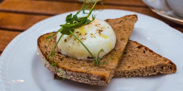 Как приготовить яйцо пашот в духовке