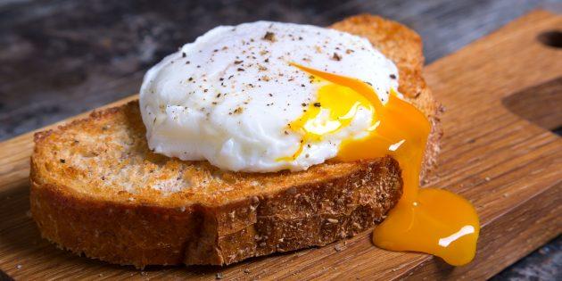 Как приготовить яйцо пашот в мультиварке
