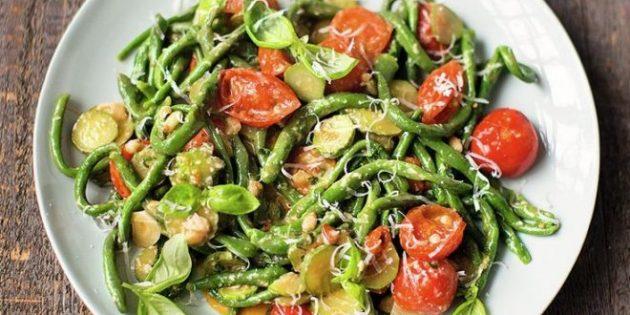 Что приготовить на ужин: Паста пичи со шпинатом