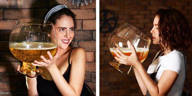 Четырёхлитровый бокал для вина
