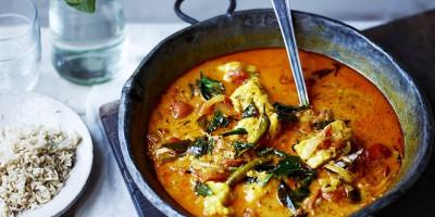 Что приготовить на ужин: карри из морской рыбы