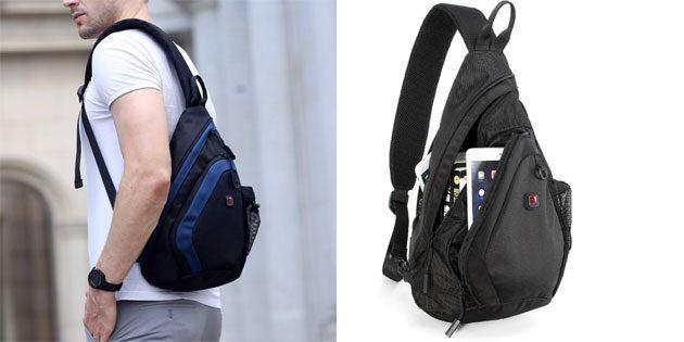 Сумка-рюкзак с ремнём через плечо