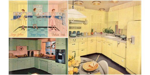50-е годы: дизайн