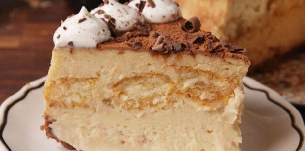 Рецепты чизкейка: Чизкейк «Тирамису»