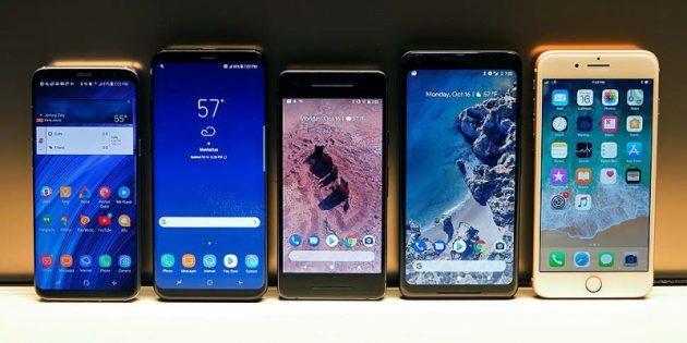 характеристики смартфонов: итог