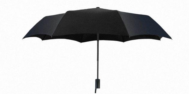 Новый автоматический зонт Xiaomi защитит от дождя и палящего солнца