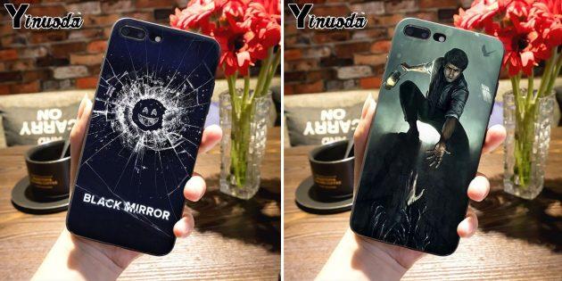 Лучшие чехлы для iPhone: Чехол «Чёрное зеркало»
