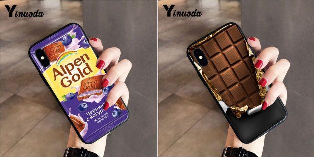 Лучшие чехлы для iPhone: Чехол-шоколадка