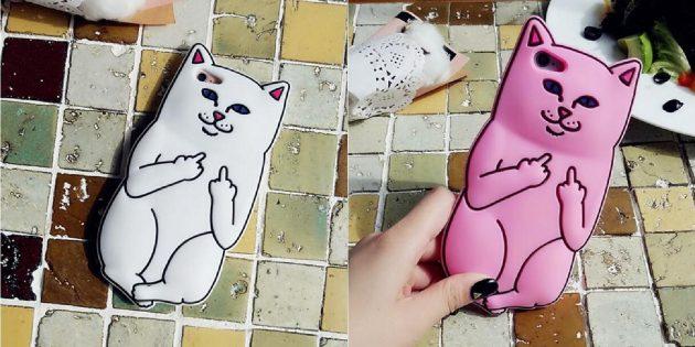 Лучшие чехлы для iPhone: Чехол с котиком