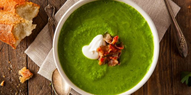 10 вкуснейших супов-пюре с грибами, чечевицей, брокколи, авокадо и не только
