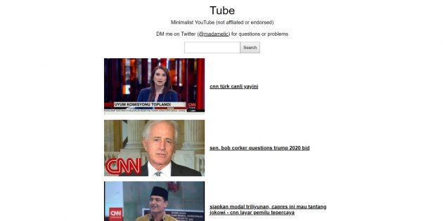 Как автоматически открывать ролики с YouTube в минималистичном виде