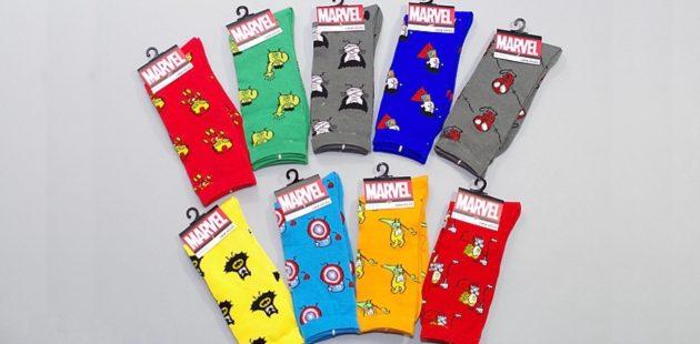 Супергеройские носки