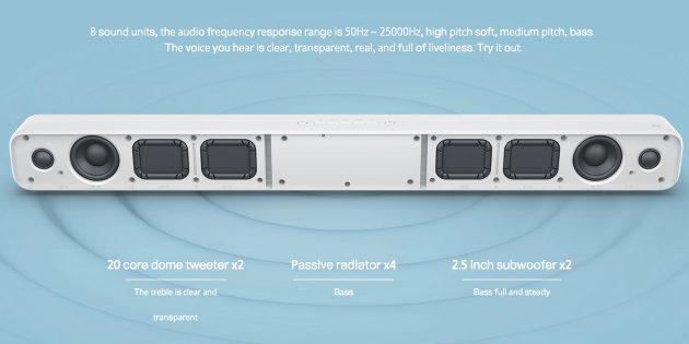 Xiaomi Mi TV Speaker: характеристики