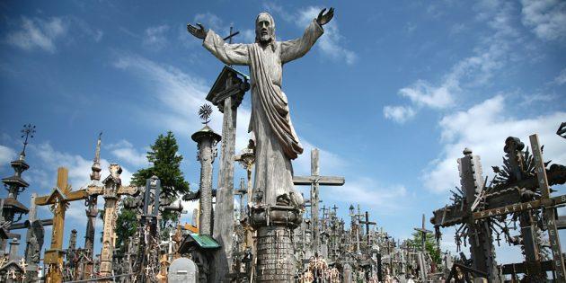 Страны ближнего зарубежья: гора крестов в Литве
