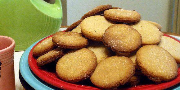 Рецепты с творогом: творожное печенье