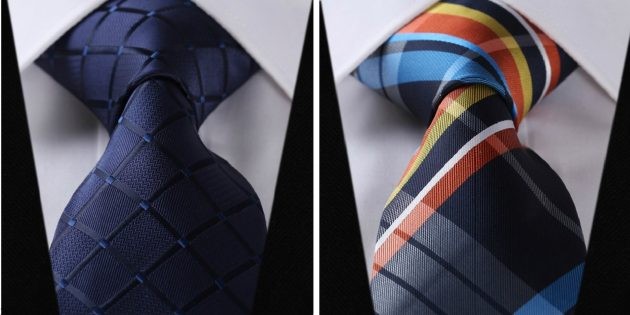 Цветной галстук