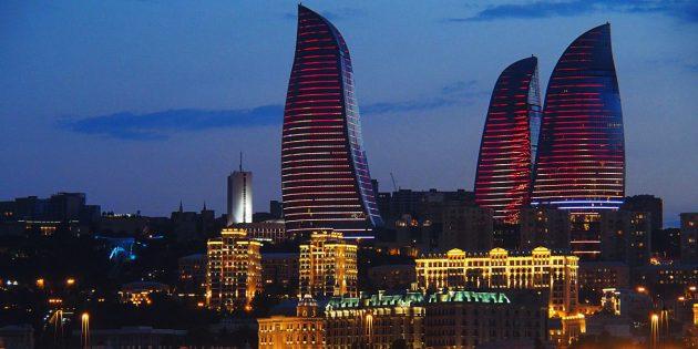 Страны ближнего зарубежья: Пламенные башни в Азербайджане