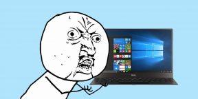 7 вещей в Windows 10, которые бесят больше всего