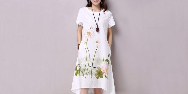 Платье Saiqigui
