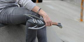 Раскладное электроукулеле, которое легко помещается в карман
