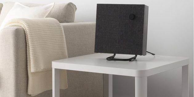 Первая Bluetooth-колонка от IKEA в узнаваемом скандинавском стиле