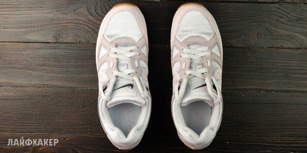 Шнуровка кроссовок с пропуском
