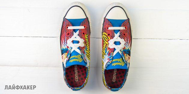 Шнуровка кроссовок «Гексаграмма»