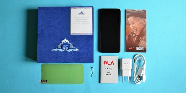 iLA Silk: комплектация